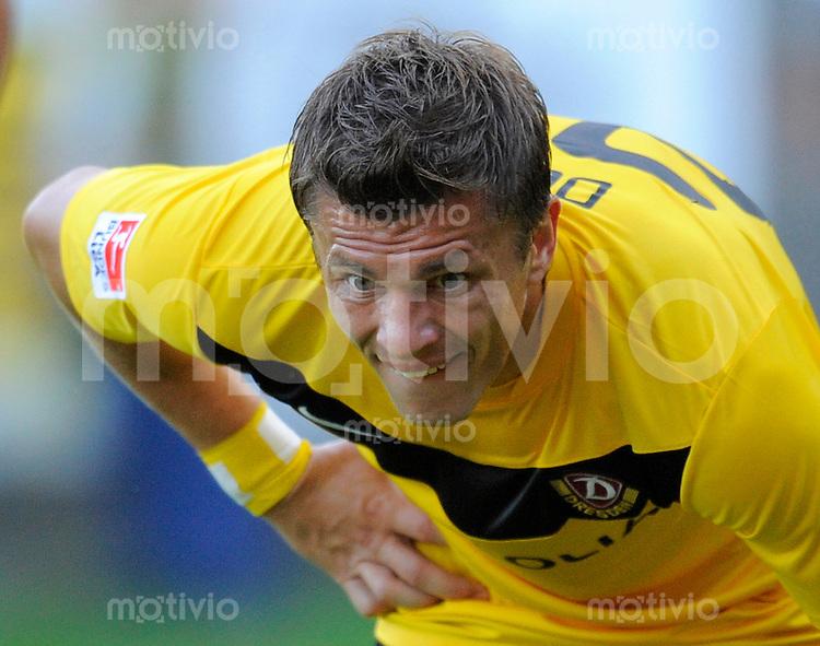 Fussball, 2. Bundesliga, Saison 2011/12, Testspiel, SG Dynamo Dresden - Zagelebie Lubin (Polen), Freitag (02.09.11), Bischofswerda. Dresdens Zlatko Dedic.