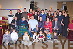 RING TIME: Kieran Sweeney, Shanakill, Tralee and Aisling O'Donnell, Cahill's Park, Tralee (seated centre) celebrating their engagement with family and friends at the Strand Road clubhouse, Tralee on Saturday.