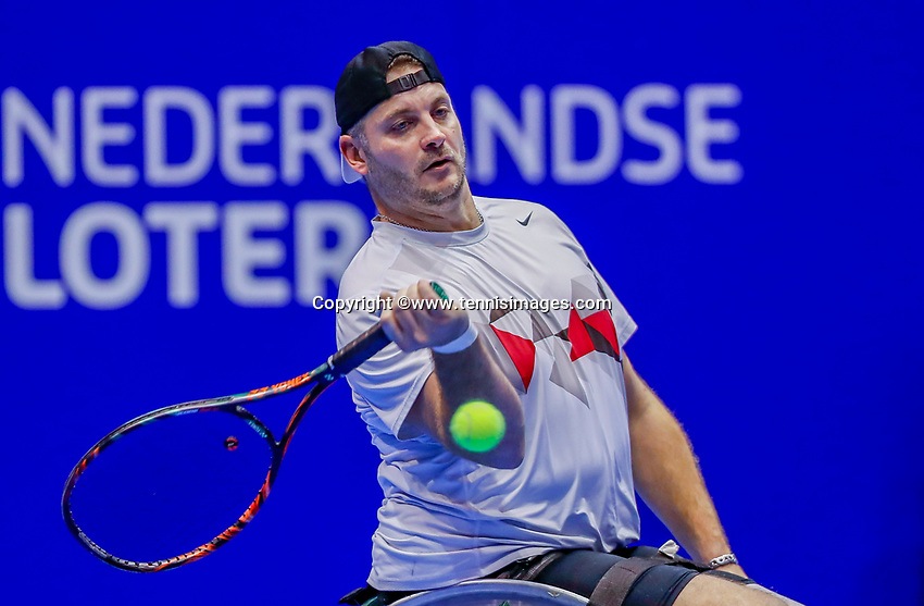 Rotterdam, Netherlands, December 12, 2017, Topsportcentrum, Ned. Loterij NK Tennis,  Wheelchair, Ricky Molier (NED)<br /> Photo: Tennisimages/Henk Koster
