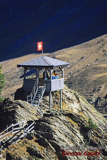 Observation Tower At Kleine Scheidegg