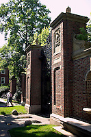 Gate of Harvard Yard, Harvard University, Cambridge, M