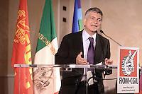 Roma, 9 Giugno 2012.Hotel Parco dei Principi.La Fiom incontra partiti e movimenti politici. Nichi Vendola Sinistra Ecologia Libertà.