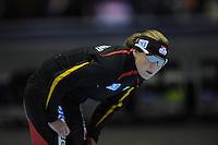 SCHAATSEN: HEERENVEEN: Thialf, World Cup, 03-12-11, 1500m A, Claudia Pechstein GER, ©foto: Martin de Jong