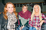 Barn Dance : Attending the fund raising barn dance at Browne's farm, Mountcoal  on Friday night last were Tina Breen, Cathriona McCarthy & Tracey   Grimes.
