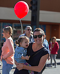 Tracy Barroza and 2-year old Brooke Stowell at the 35th Annual Eldorado Great Italian Festival held in downtown Reno on Saturday, October 8, 2016.