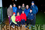 Getting fit this Spring in Glenflesk GAA football pitch on Monday evening as part of the Operation Transformation front ro l-r: Eileen Daly, Aileen doherty, Emma and James Kelly. Back row: Mary Casey, Ann and Neily Moynihan, Mary casey, Jack Dineen, TJ Kelly and Derry Healy