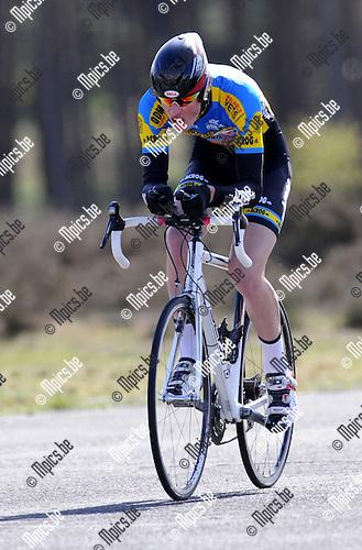 2011-04-12 / Wielrennen / seizoen 2011 / PK Tijdrijden / Thomas Peeters..Foto: Mpics