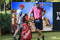 Padraig Harrington (IRL) and Ronan Flood during Wednesday's Pro-Am of the 2018 Turkish Airlines Open hosted by Regnum Carya Golf &amp; Spa Resort, Antalya, Turkey. 31st October 2018.<br /> Picture: Eoin Clarke | Golffile<br /> <br /> <br /> All photos usage must carry mandatory copyright credit (&copy; Golffile | Eoin Clarke)