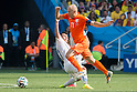 Gary Medel (CHI), Arjen Robben (NED), JUNE 23, 2014 - Football / Soccer : FIFA World Cup Brazil 2014 Group B match between Netherlands 2-0 Chile at Arena de Sao Paulo Stadium in Sao Paulo, Brazil. (Photo by Maurizio Borsari/AFLO)