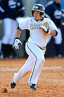 13 February 2010:  FIU's Brie Rojas (24) runs to second as the FIU Golden Panthers defeated the Southern Illinois Salukis, 10-6, at the University Park Stadium in Miami, Florida.