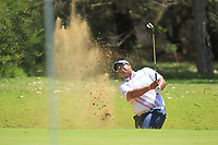 Kiradech Aphibarnrat (THA) in action on the 1st during Round 1 of the ISPS Handa World Super 6 Perth at Lake Karrinyup Country Club on the Thursday 8th February 2018.<br /> Picture:  Thos Caffrey / www.golffile.ie<br /> <br /> All photo usage must carry mandatory copyright credit (&copy; Golffile | Thos Caffrey)