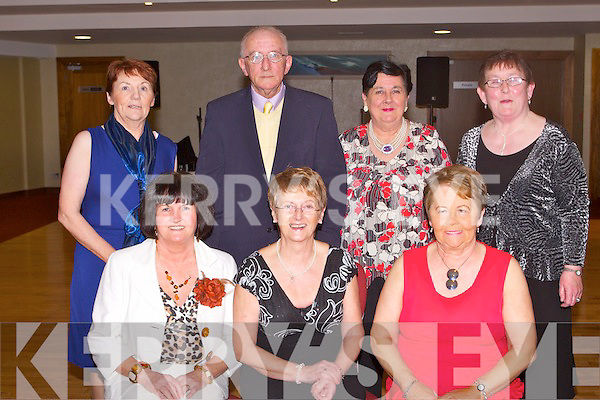 ANNUAL DINNER: Having a great time at the Ballinorig close and estate annual get together at the Manor West hotel, Tralee on Friday seated l-r: Theresa Lehane, Mary McCarthy and Kitty Morrissy. Back l-r: Bridie Sheehy, Michael and Kay Long and Kathleen McMullen.