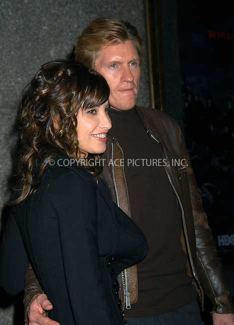 Gina Gershon and Denis Leary at the premiere of 'The Sopranos.' New York, March 2, 2004. Please byline: AJ SOKALNER/ACE Pictures.   ..*PAY-PER-USE*      ....IMPORTANT: Please note that our old trade name, NEW YORK PHOTO PRESS (NYPP), is replaced by new name, ACE PICTURES. New York Photo Press and ACE Pictures are owned by All Celebrity Entertainment, Inc.......All Celebrity Entertainment, Inc:  ..contact: Alecsey Boldeskul (646) 267-6913 ..Philip Vaughan (646) 769-0430..e-mail: info@nyphotopress.com
