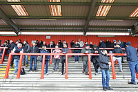 Main stand during Stevenage vs Reading, Emirates FA Cup Football at the Lamex Stadium on 6th January 2018