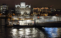 Festival Pier by the River Thames. London on Saturday February 10th 2018<br /> CAP/ROS<br /> &copy;ROS/Capital Pictures