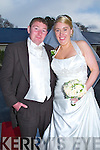 Teresa  Murphy daughter of Patsy and Mary,The River Caherciveen, and John Noel McCarthy son of Margaret and the late John,Portmagee, who were married on Saturday in O'Connell Memorial Church, Caherciveen, Fr Gunn officiated at the ceremony. Best man was Mark Flanagan, and groomsmen were, Gerard McCarthy, Kevin Donoghue and David Hussey. Bridesmaids were, Fiona Murphy,Kayleigh Hussey,Aine Kelliher and Jenny Fox.Flowergirls,Tess O'Shea and Kara O'Sullivan.Pageboy was Alifie McCarthy. The reception was held in Ballygarry House Hotel & Spa, Tralee. The couple will reside Portmagee.