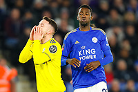 4th March 2020; King Power Stadium, Leicester, Midlands, England; English FA Cup Football, Leicester City versus Birmingham City; Craig Gardner of Birmingham City rues a missed opportunity as Wilfred Ndidi of Leicester breathes a sigh of relief