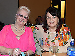 OLive Reynolds and Maeve Reilly pictured at the 60's night in O'Raghallaighs. Photo:Colin Bell/pressphotos.ie