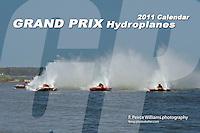 2011 Grand Prix Hydroplane Calendar