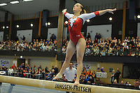 TURNEN: HEERENVEEN: 28-02-2016, Sportstad, Sidijk Gymnastics Tournament, Céline van Gerner, ©foto Martin de Jong