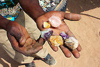 Gemstone Seller in Namibia
