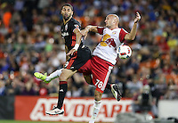 Washington, D.C. - May 13, 2016: D.C. United defeated the New York Red Bulls 2-0 during their Major League Soccer (MLS) match at RFK Stadium.