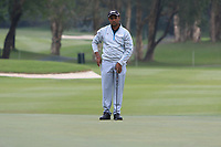 S.S.P. Chawrasia (IND) on the 3rd green during Round 3 of the UBS Hong Kong Open, at Hong Kong golf club, Fanling, Hong Kong. 25/11/2017<br /> Picture: Golffile | Thos Caffrey<br /> <br /> <br /> All photo usage must carry mandatory copyright credit     (© Golffile | Thos Caffrey)