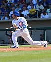 Chicago Cubs Chris Denorfia (15) during a spring training game against the San Diego Padres on March 9, 2015 at Sloan Park in Mesa, AZ. The Padres beat the Cubs 6-3.