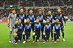 Japan team group line-up (JPN),<br /> MARCH 29, 2016 - Football / Soccer :<br /> FIFA World Cup Russia 2018 Asian Qualifier Second Round Group E match between Japan 5-0 Syria at Saitama Stadium 2002 in Saitama, Japan. (Photo by AFLO)
