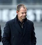 Nederland, Zwolle, 11 november  2012.Eredivisie.Seizoen 2012-2013.PEC-Zwolle-Ajax.Frank de Boer, trainer-coach van Ajax baalt