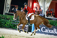 BEL-Jerome Guery rides Grand Cru van de Rozenberg during the Longines FEI Nations Cup Jumping Final. 2017 ESP-Longines FEI Nations Cup Jumping Final - CSIO Barcelona. Real Club de Polo de Barcelona. Saturday 30 September. Copyright Photo: Libby Law Photography