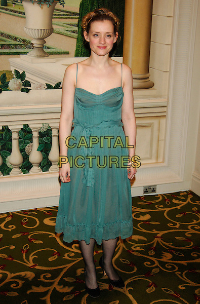 ANNE-MARIE DUFF.RTS Programme Awards (Royal Television Society), .Grosvenor House Hotel, Park Lane, London,.England, March 14th 2006..full length green dress anne marie ann ann-marie.Ref: PL.www.capitalpictures.com.sales@capitalpictures.com.©Phil Loftus/Capital Pictures