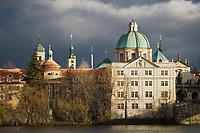 Europe/République Tchèque/Prague: Eglise Baroque  Saint- Sauveur du Clementinum
