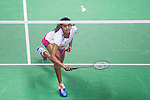Pusarla V. Sindhu of India competes against Tai Tzu Ying of Taiwan during their Women's Singles Final of YONEX-SUNRISE Hong Kong Open Badminton Championships 2016 at the Hong Kong Coliseum on 27 November 2016 in Hong Kong, China. Photo by Marcio Rodrigo Machado / Power Sport Images