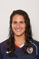 Rachel Nuzzolese. U-17 USA Women's National Team head shots on September 16, 2008. Photo by Howard C. Smith/isiphotos.com