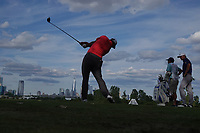 Jon Rahm (ESP) in action during the final round of the Northern Trust played at Liberty National Golf Club, Jersey City, USA. 12/08/2019<br /> Picture: Golffile | Phil INGLIS<br /> <br /> All photo usage must carry mandatory copyright credit (© Golffile | Phil INGLIS)