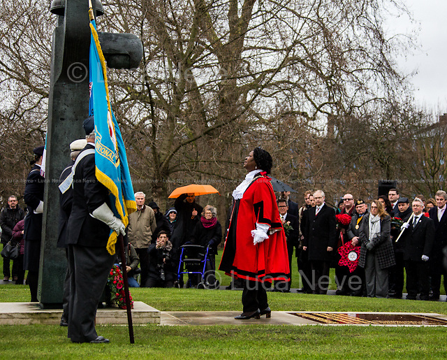 Councillor Dora Dixon-Fyle MBE (Mayor of Southwark).<br />