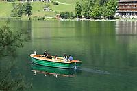 Boot auf dem Hintersee - Berchtesgaden 16.07.2019: Zauberwald und Hintersee in Ramsau