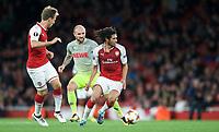Mohamed Elneny of Arsenal during the UEFA Europa League match between Arsenal and FC Koln at the Emirates Stadium, London, England on 14 September 2017. Photo by Andrew Aleks.
