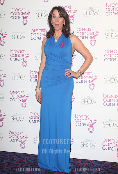 Andrea McLean arriving for the Breast Cancer Care Fashion Show, Grosvenor House Hotel, London. 02/10/2012 Picture by: Alexandra Glen / Featureflash