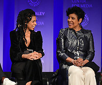 """HOLLYWOOD, CA - MARCH 24: Susan Kelechi Watson and Phylicia Rashad attend PaleyFest 2019 for 20th Century Fox Television's """"This is Us"""" at the Dolby Theatre on March 24, 2019 in Hollywood, California. (Photo by Frank Micelotta/20th Century Fox Television/PictureGroup)"""