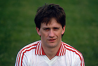 Paudge Quinn, GAA footballer, Tyrone, N Ireland, 19870608PQ..Copyright Image from Victor Patterson, 54 Dorchester Park, Belfast, UK, BT9 6RJ..Tel: +44 28 9066 1296.Mob: +44 7802 353836.Voicemail +44 20 8816 7153.Skype: victorpattersonbelfast.Email: victorpatterson@me.com.Email: victorpatterson@ireland.com (back-up)..IMPORTANT: If you wish to use this image or any other of my images please go to www.victorpatterson.com and click on the Terms & Conditions. Then contact me by email or phone with the reference number(s) of the image(s) concerned.