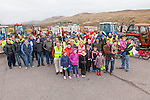 A great turn out for the Tractor Run from St Finians Church in Waterville in aid of The Oncology Unit in CUH on Sunday with just over 50 tractors, vinatge car's and some Honda 50's taking part.