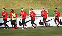 Auslaufen Eintracht - 30.01.2018: Eintracht Frankfurt Training, Commerzbank Arena