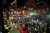 Austin's dirty 6th Street, full of drunken brawls and debauchery, plays host to a wide variety of events each year, ranging from music and film festivals (such as South by Southwest) to biker rallies (such as The Republic of Texas Biker Rally) Halloween Costume Party and the Pecan Street Festival.