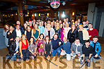 Staff of Garveys Supervalu enjoying their Christmas party in the Ashe Hotel on Saturday