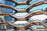 NOVA YORK , EUA, 25.05.2019 - HUDSON-YARDS - The Vessel no Hudson Yards em Nova York. (Foto: Vanessa Carvalho/Brazil Photo Press)