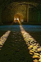 Afternoon light through window, Munot Castle, Schaffhausen, Switzerland