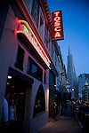 Tosca's Bar in North Beach, San Francisco, California