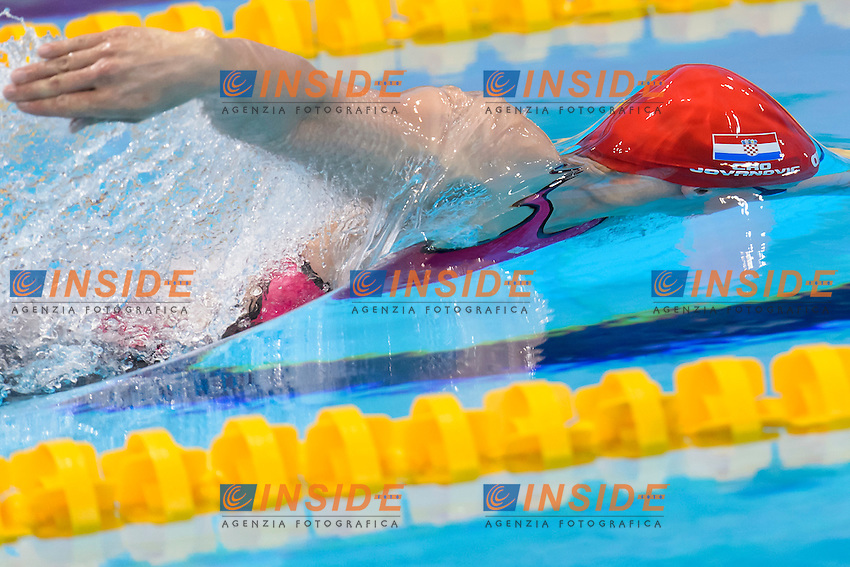 Sanja JOVANOVIC CRO <br /> 100m Freestyle Women preliminary <br /> London, Queen Elizabeth II Olympic Park Pool <br /> LEN 2016 European Aquatics Elite Championships <br /> Swimming<br /> Day 09 17-05-2016<br /> Photo Andrea Staccioli/Deepbluemedia/Insidefoto